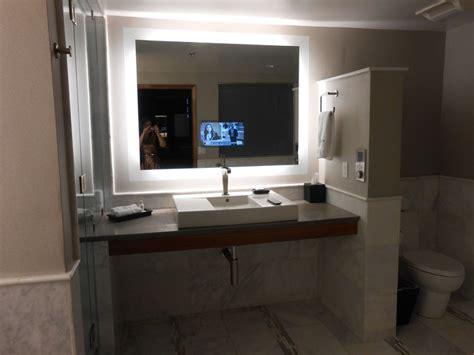 tv in the mirror bathroom tv in the bathroom mirror house planning