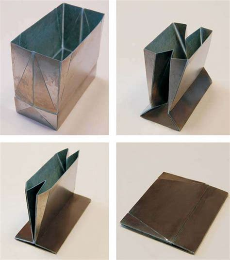 origami bags with paper metal origami bags zhong you and weina wu