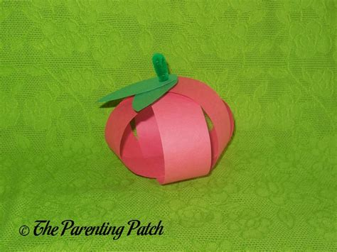 paper apple crafts paper apple craft parenting patch