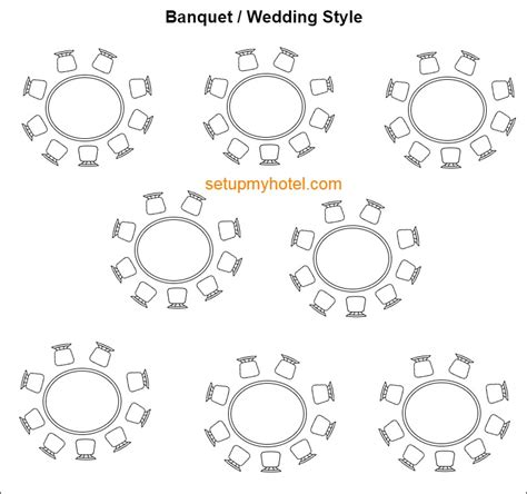 banquet table setup 9 types of banquet room setup event room setup styles