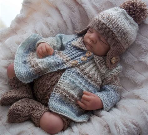 baby doll knitting patterns uk dk baby knitting pattern to knit baby boys or reborn doll