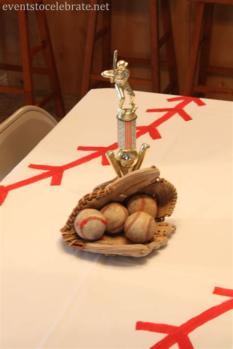 baseball centerpieces for tables baseball birthday ideas events to celebrate