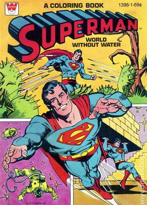 superman comic book pictures superman coloring book sc 1965 1980 whitman comic books
