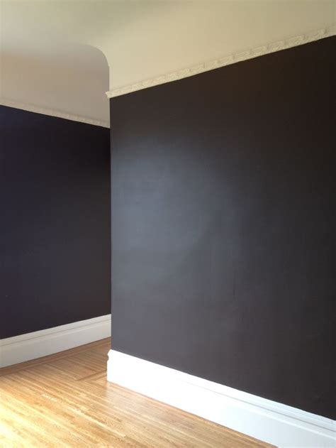 behr paint colors black ethan accent behr quot cavern quot just bought this in