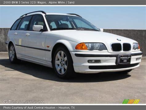 2000 Bmw 323i Wagon by Alpine White 2000 Bmw 3 Series 323i Wagon Sand