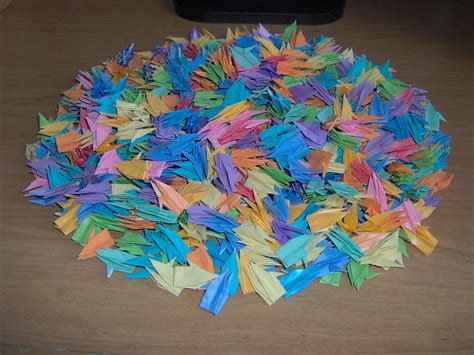 1 000 origami cranes origami images 1000 cranes hd wallpaper and background