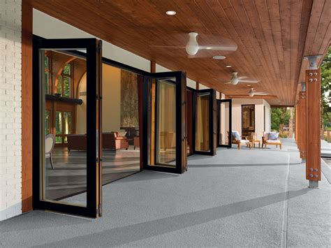folding glass doors for patio folding patio glass doors marvin doors