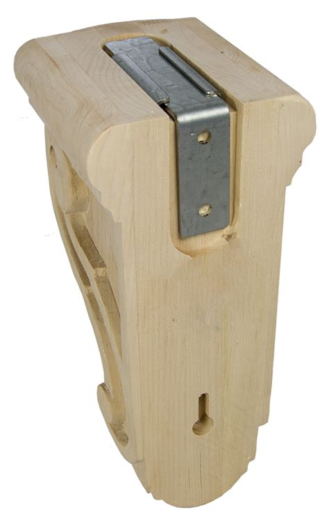 woodworking brace federal brace introduces wood corbel kits at kbis 2016