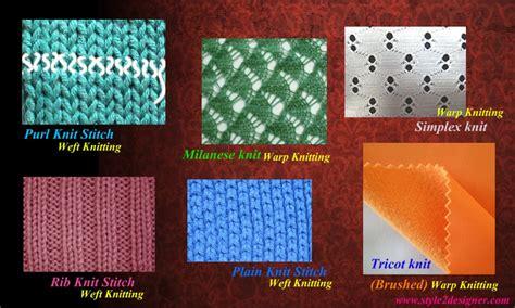 types of warp knitting warp and weft knitting method style2designer
