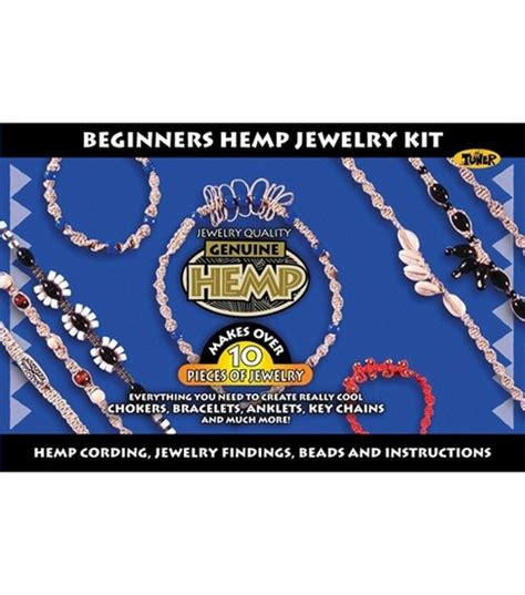 beginner jewelry kits beginners hemp jewelry kit jo
