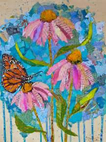 make flower painting how to make a collage some simple tips bored
