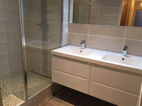salle de bains en travertin sur vitrolles carrelage int 233 rieur et ext 233 rieur 224 eguilles salle