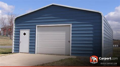 single car garage single car metal garage 22 x 31 shop metal buildings
