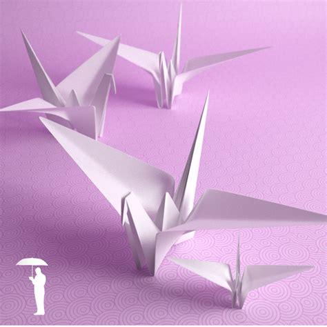 Moving Origami Crane Comot