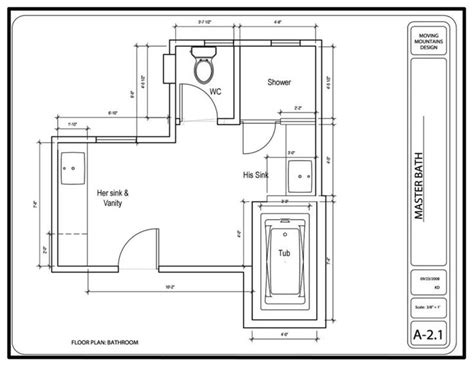design bathroom floor plan master bathroom design project the design
