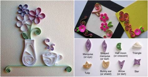 quilling paper craft tutorial how to make paper quilling tutorial for beginners how