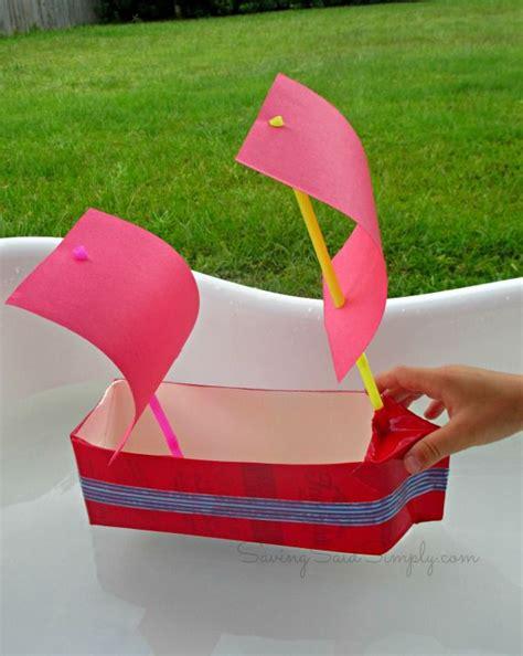kid craft boats best 25 milk crafts ideas on