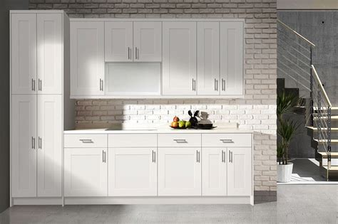 white shaker style cabinet doors flat panel vs shaker style cabinets in stock kitchens