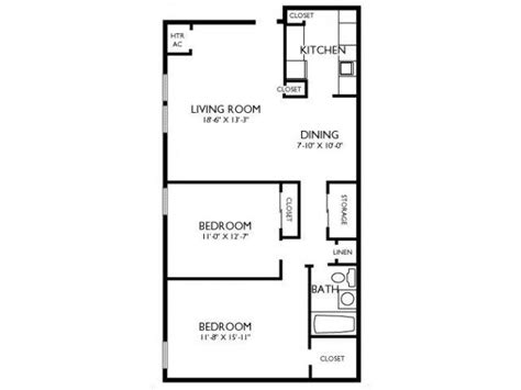 2 bedroom 1 bath house plans 2 bed 1 bath apartment for rent at joshua house apartments