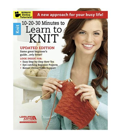 is learning to knit 10 20 30 minutes to learn to knit book jo