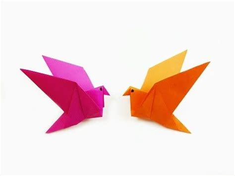 origami bird easy top 25 best flapping bird ideas on origami