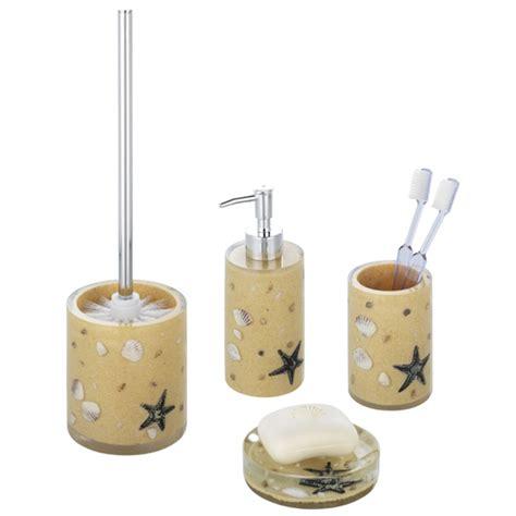 beige bathroom accessories set wenko bathroom accessories set beige at