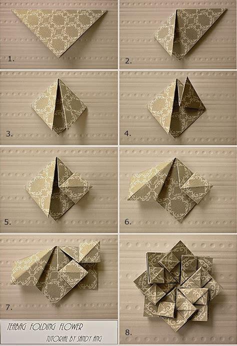 origami revealed flower squash fold flower origami eggery bags