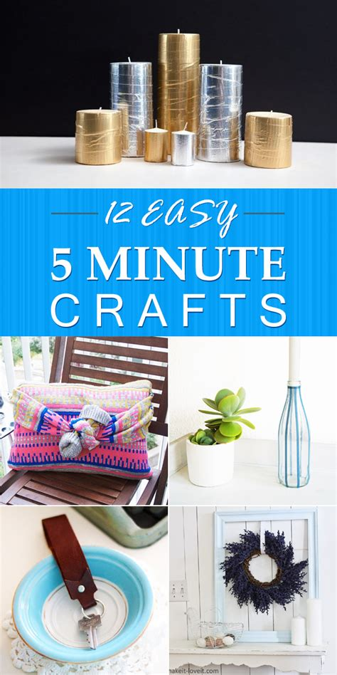crafts for 5 12 easy 5 minute crafts that anyone can do