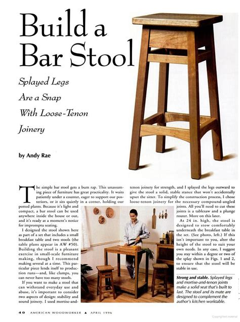 bar stool woodworking plans woodwork bar stool wood plans pdf plans