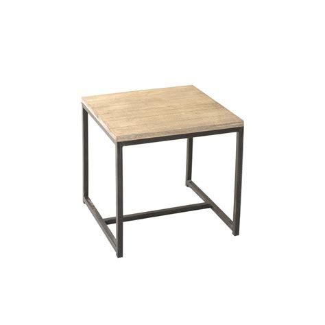 bout de canap 233 carr 233 paulownia meubles macabane meubles et objets de d 233 coration