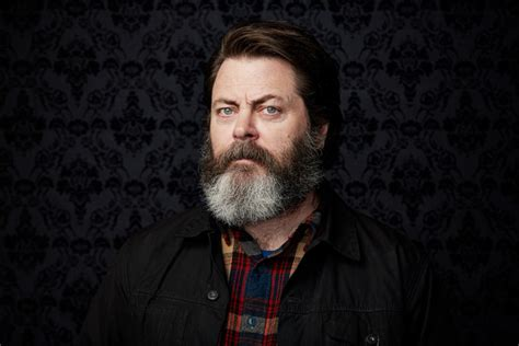 nick offerman nick offerman on why swanson would never vote for
