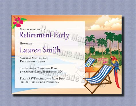 retirement cards to make retirement invitation template theruntime