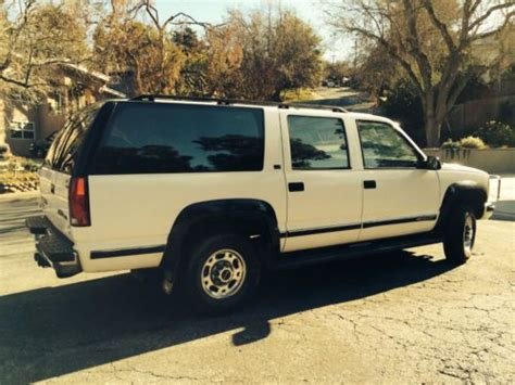 how to sell used cars 1993 gmc suburban 2500 spare parts catalogs sell used 1993 gmc suburban 2500 4wd 7 4l in belmont california united states