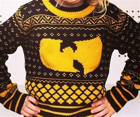 wu tang knit sweater k telontour travel the world but s l o w l y it