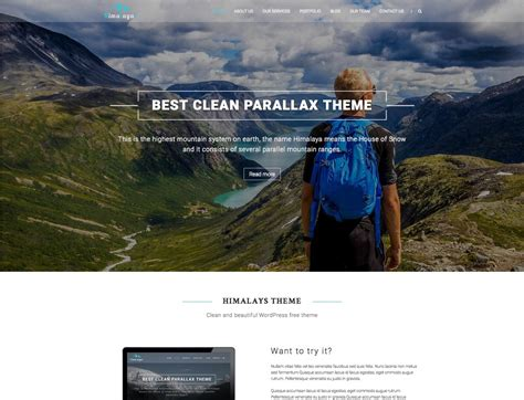 best free 15 best free one page themes 2017 themegrill