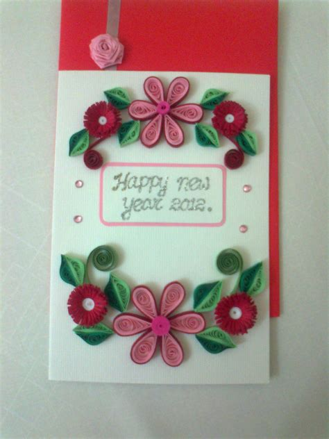 new year card ideas for cousins handmade cards ideas for the new year