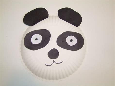 panda crafts for paper plate panda paper plate crafts