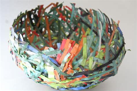 paper mache crafts ideas tissue paper bowls paper mache on