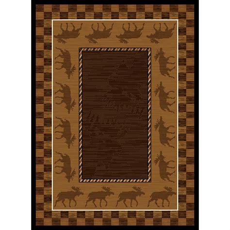 moose area rug united weavers 174 moose area rug 5 3 quot x7 2 quot 195737