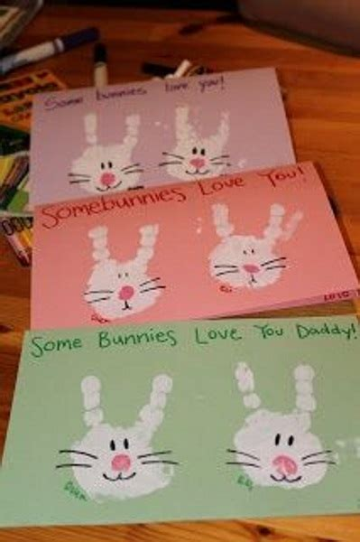 easter cards for children to make 40 easy easter crafts for i pink