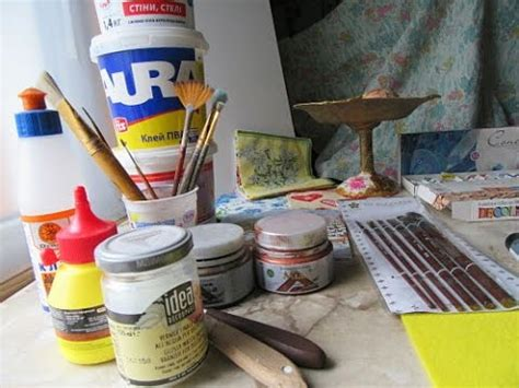 decoupage tools and materials tools and materials for decoupage you need to beginners