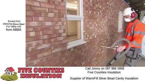 silver bead insulation blown bead cavity wall insulation