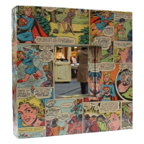 decoupage comic book decoupage future baby babies supergirl