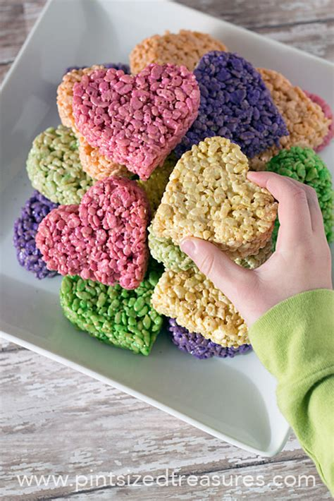 for valentines shaped rice krispie treat pops 183 pint sized treasures