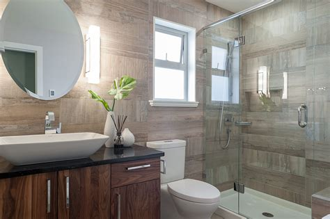 modern bathroom renovation small bathroom renovation loaded with style modern home