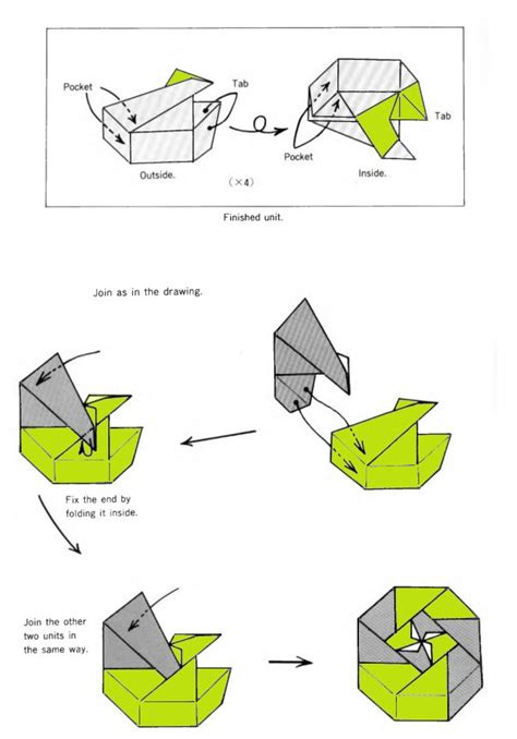 how to fold a origami box octagonal box origami