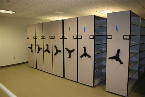 high density shelving system