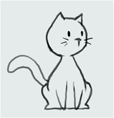 cat easy pintrest simple cat drawing yong hee s workspace