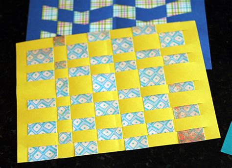 paper weaving crafts classic craft paper weaving make and takes