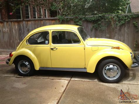 72 Volkswagen Beetle by 72 1972 Vw Volkswagen Beetle Unrestored Survivor